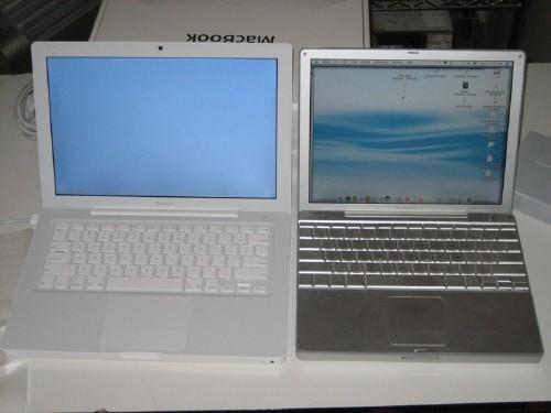 MacBook vs. PowerBook 12