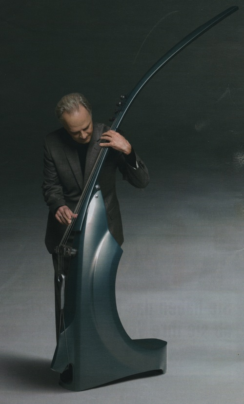 fake electric upright bass